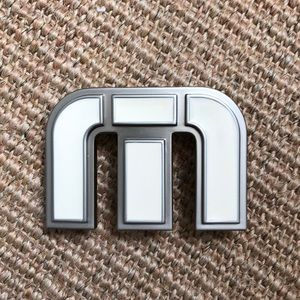 Travis Mathew White Logo Buckle